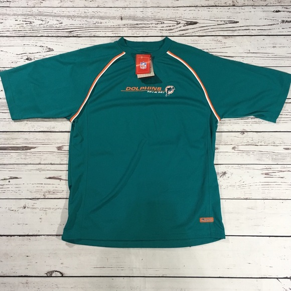 factory authentic e925d b4e2b Miami Dolphin NFL performance shirt NWT